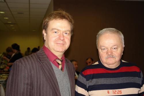 В.В. Кустов и В.В. Егоров