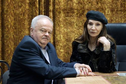 Джуна Давиташвили и Валерий Кустов